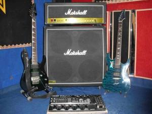 Sound Guitar & gitarnya