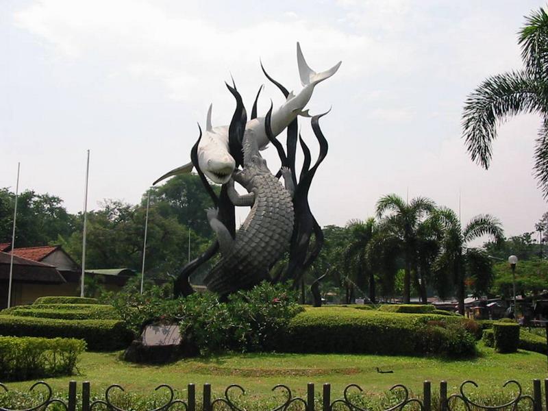 Asal Nama Surabaya Ternyata Bukan Hiu Buaya Good News Kala