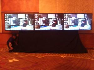 Sewa Touchscreen TV 60' sebanyak 3 unit